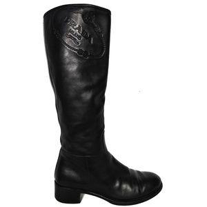 Prada Vintage Leather Boots size 38
